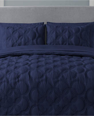 Vcny Home Atoll 7-Pc. Quilted King Bed-in-a-Bag Set Bedding