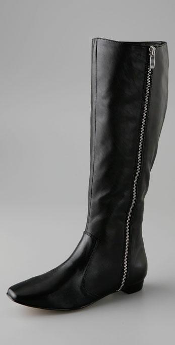 Dolce Vita Gina Outside Zip Flat Boot