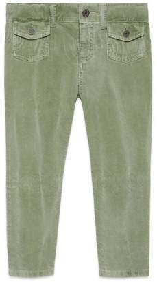 Gucci Children's stretch corduroy trousers