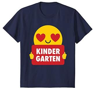 Kindergarten Shirt Heart Eye T-Shirt Pre-K Tee