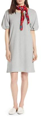 Halogen Bubble Sleeve Dress