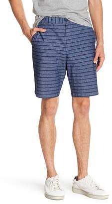 Original Penguin Straight True Indigo Horizontal Striped Shorts