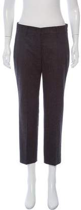 Prada Wool Mid-Rise Pants w/ Tags