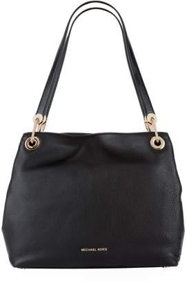 MICHAEL Michael Kors Large Leather Raven Shoulder Bag