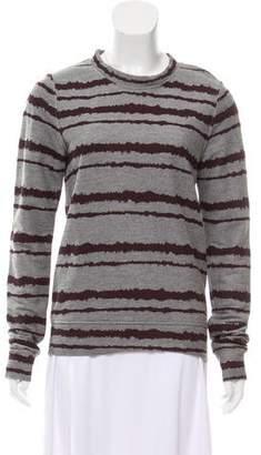A.L.C. Printed Crew Neck Sweatshirt