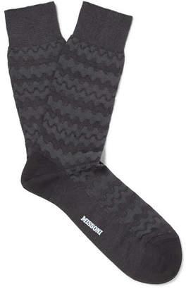 Missoni Cotton-Blend Jacquard Socks