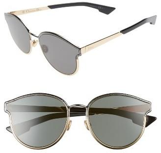 Women's Dior Symmetrics 59Mm Sunglasses - Black/ Marble