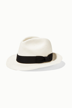Sensi Studio - Classic Toquilla Straw Panama Hat - White