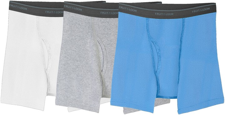Boys 4-20 3-Pack Husky Boxer Briefs