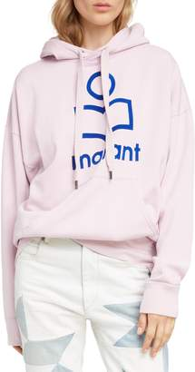 Etoile Isabel Marant Mansel Logo Hooded Sweatshirt