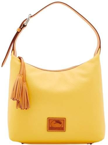 Dooney & Bourke Patterson Leather Paige Sac Shoulder Bag - LEMON - STYLE