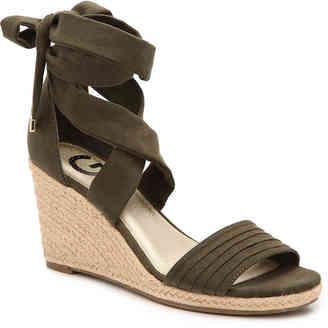Women's Beaut Wedge Sandal -Green $59 thestylecure.com