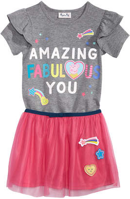 Peppa Pig Little Girls 2-Pc. Graphic-Print T-Shirt & Skirt Set