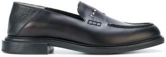 Fendi stud-embellished loafers