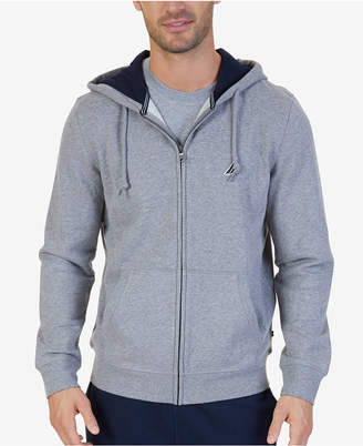 Nautica Men Anchor Fleece Full-Zip Hoodie