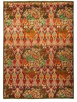Suzani Oriental Area Rug, 9'1 x 12'3