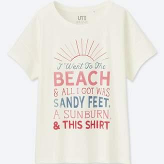 Uniqlo WOMEN Matthew Allen Short Sleeve Graphic T-Shirt