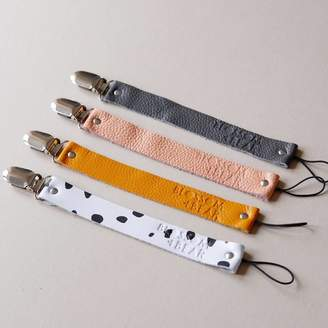 Blossom and Bear Leather Dummy Clip Strap