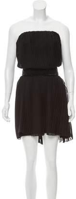 Carlos Miele Pleated Mini Dress