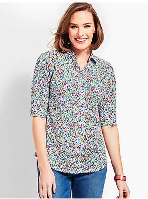 Talbots The Perfect Shirt - Prairie Floral
