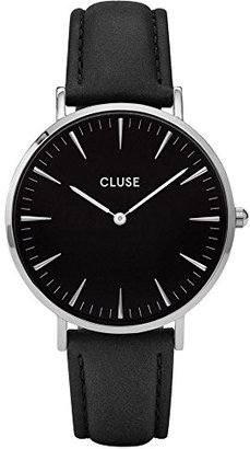 Cluse CL18201 SILVER BLACK/BLACK WATCHES LA BOHEME レディース 腕時計 プレゼント 時計 クルース