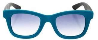 Italia Independent Velvet Wayfarer Sunglasses