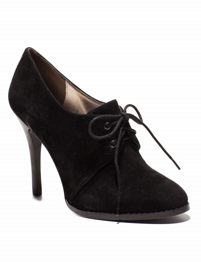 Genuine Suede Ankle Bootie