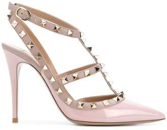 Valentino studded T-strap pumps