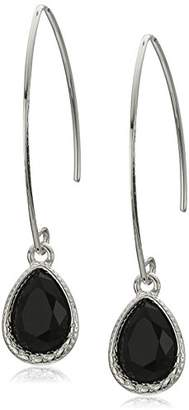Nine West Silver-Tone and Threader Drop Earrings