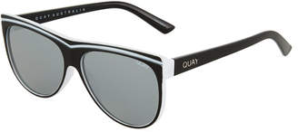Quay Hollywood Nights Shield Plastic Sunglasses