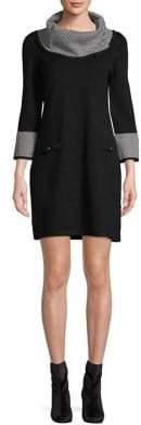 Eliza J Patterned Shift Dress
