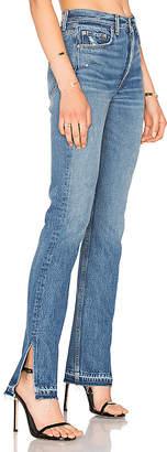 GRLFRND x REVOLVE Natalia High-Rise Skinny Split Jean.