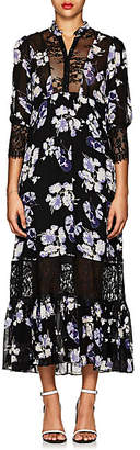 By Ti Mo byTiMo Women's Floral Georgette Midi-Dress