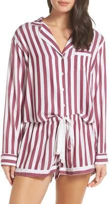 Rails Stripe Short Pajamas