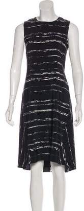 Vince Silk Printed Dress