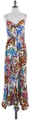 Ali Ro White Splatter Floral Print Maxi Dress $88.99 thestylecure.com