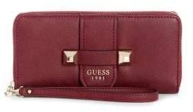 GUESS Large Talan Zip-Around Continental Wallet