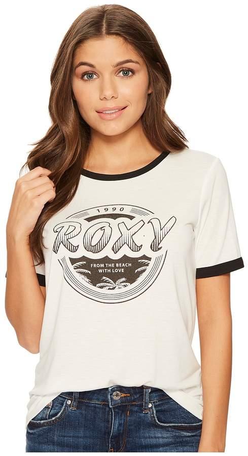 Roxy - Puerto Pic Roxy 1990 Screen Tee Women's T Shirt