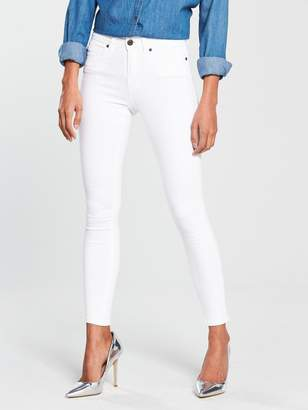 Noisy May Lucy Skinny Jeans - White