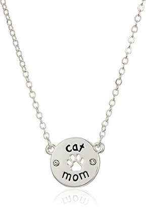 Pet Friends tone Cat Mom Pendant