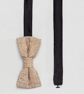 Noak bow tie in stone fleck