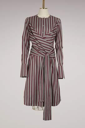 Victoria Beckham Victoria Tied shirt dress