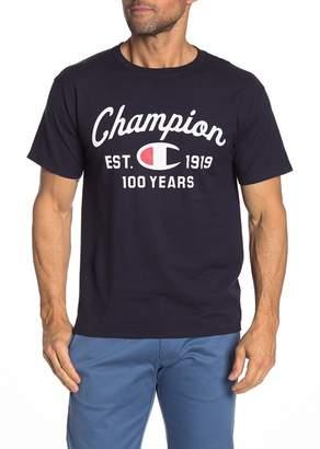 Champion Script Established 1919 T-Shirt