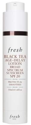 Fresh R) Black Tea Age-Delay Lotion Broad Spectrum Sunscreen SPF 20