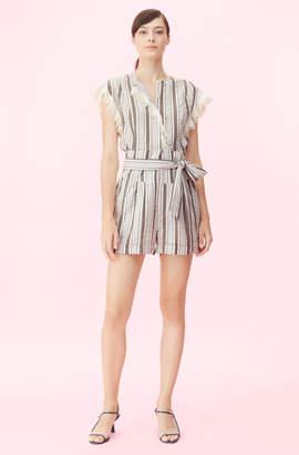 Rebecca Taylor La Vie Corded Stripe Short