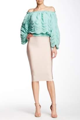 Gracia Bodycon Midi Pencil Skirt