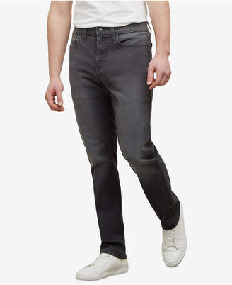 Kenneth Cole New York Men's Straight-Fit Stretch Jeans