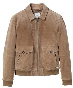 Mango Man MANGO MAN Peccary leather jacket