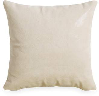 Donna Karan Tidal Lacquer Printed Leather Decorative Pillow, 16 x 16