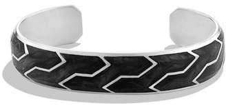 David Yurman Forged Carbon Cuff Bracelet